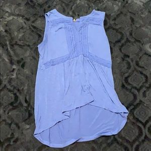 Cupio sleeveless t shirt with embroidery